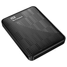 Buy WD My Passport Portable Hard Drive, USB 3.0, 1TB Online at johnlewis.com