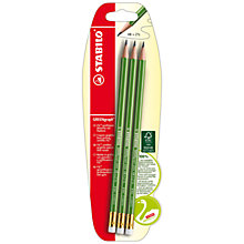 Buy Stabilo Eraser Tip Pencils, Pack of 3 Online at johnlewis.com