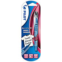 Buy Pilot Laundry Marker Pen, Blue Online at johnlewis.com