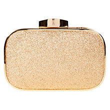 Buy Coast Batida Clutch Handbag, Gold Online at johnlewis.com