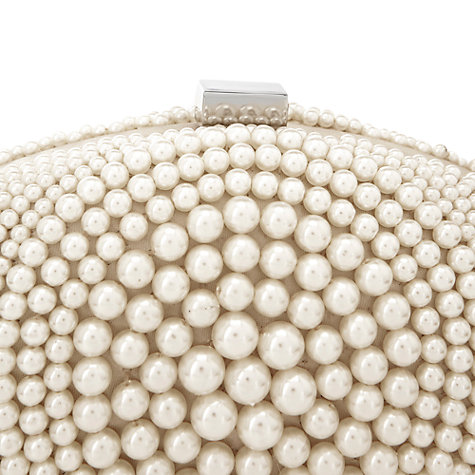 Buy Coast Paloma Clutch Bag, Pearl Online at johnlewis.com