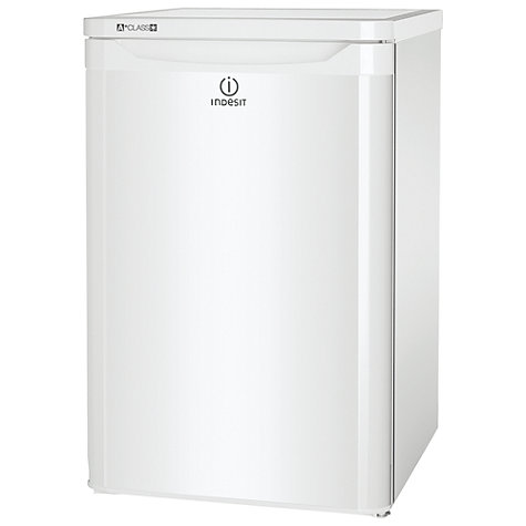 Buy Indesit TLAA10 Larder Fridge, A+ Energy Rating, 55cm, White Online at johnlewis.com