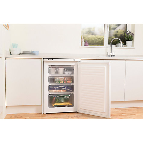 Buy Indesit TZAA10 Freezer, A+ Energy Rating, 55cm Wide, White Online at johnlewis.com