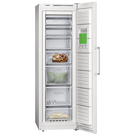 Buy Siemens GS36NVW30G Freezer, White Online at johnlewis.com