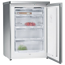 Buy Siemens GS16VAI30G Freezer, Stainless Steel Online at johnlewis.com