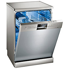 Buy Siemens SN26M853GB Dishwasher, Stainless Steel Online at johnlewis.com