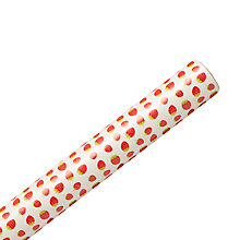 Buy John Lewis Strawberries Wrapping Paper, Multi, L3m Online at johnlewis.com
