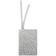 Buy John Lewis Glitter Gift Tag Online at johnlewis.com