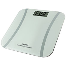 Buy Salter Ultimate Accuracy Bathroom Scale, White Online at johnlewis.com