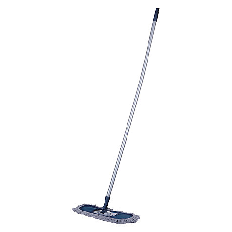 Buy John Lewis The Basics Waxed Mop and Handle Online at johnlewis.com