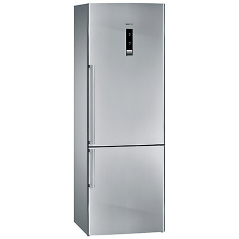 Buy Siemens KG49NAI32G Fridge Freezer, Stainless Steel Online at johnlewis.com