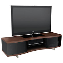 "Buy BDI Ola 8137 TV Stand for TVs up to 75"", Chocolate Stained Walnut Online at johnlewis.com"