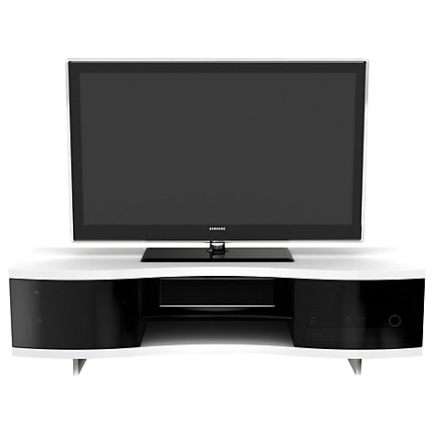 Buy BDI Ola 8137 TV Stand for up to 75-inch TVs, Satin White Online at johnlewis.com