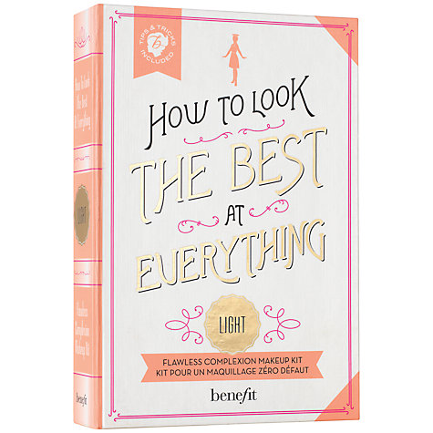 Buy Benefit How To Look The Best At Everything Kit, Light Online at johnlewis.com