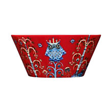 Buy Iittala Red Taika Bowl, 0.6L Online at johnlewis.com