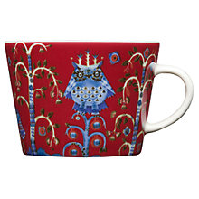 Buy Iittala Red Taika Cappucino Cup Online at johnlewis.com