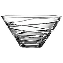 Buy Waterford Crystal Jasper Conran Aura Angled Bowl Online at johnlewis.com