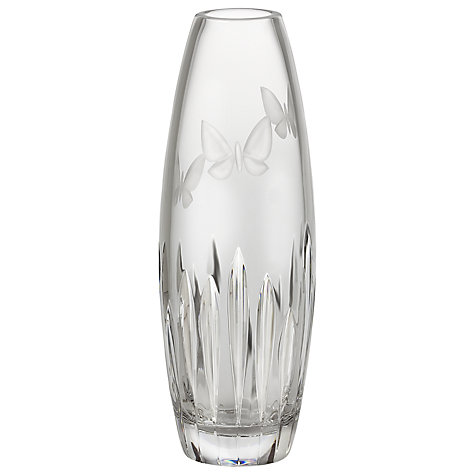 Buy Waterford Crystal Butterfly Bud Vase Online at johnlewis.com
