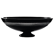 "Buy Waterford Crystal John Rocha Black Cut Centrepiece, 13.5"" Online at johnlewis.com"