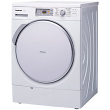 Buy Panasonic NH-P80G1 Condenser Tumble Dryer, 8kg Load, A Energy Rating, White Online at johnlewis.com