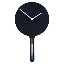 Buy Diamantini & Domeniconi Tablita Clock, H33 x W18 x D2.5cm Online at johnlewis.com