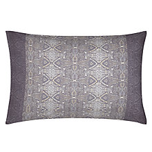 Buy Kirstie Allsopp Alberta Standard Pillowcases, Damson, Pair Online at johnlewis.com