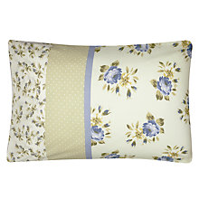 Buy Kirstie Allsopp Henrietta Standard Pillowcases, Yellow, Pair Online at johnlewis.com