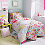 Kirstie Allsopp Alphabet Children's Single Duvet Cover and Pillowcase Set, Multi