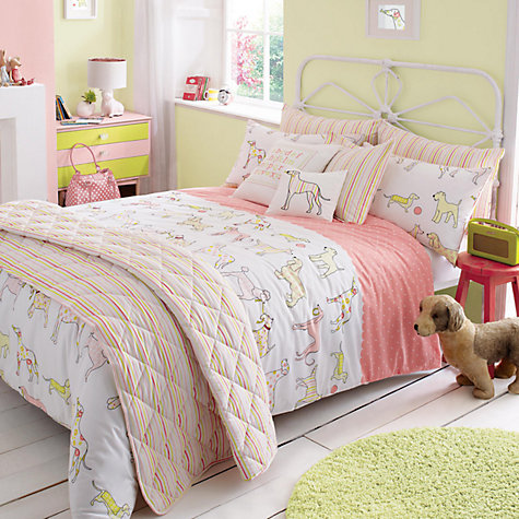 Buy Kirstie Allsopp Top Dog Children's Single Duvet Cover and Pillowcase Set, Multi Online at johnlewis.com