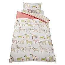 Buy Kirstie Allsopp Top Dog Children's Single Duvet Cover Set, Multi Online at johnlewis.com