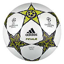 Buy Adidas Finale 12 Sportivo Hand Stitched Football Online at johnlewis.com