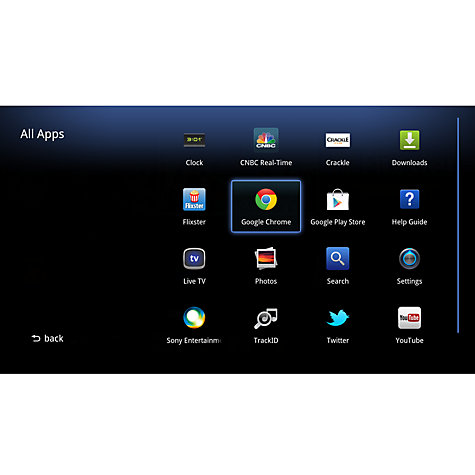 Buy Sony NSZ-GS7B Internet Player with Google TV Online at johnlewis.com