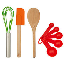 Buy Jme Little Chefs Utensils, Multi Online at johnlewis.com