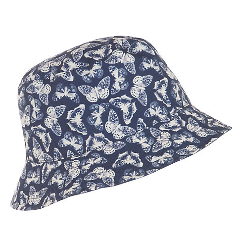 Buy Lola Rose Reversible Butterfly Print Rain Hat, Navy Online at johnlewis.com