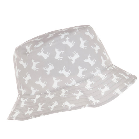 Buy Lola Rose Reversible Horse Print Rain Hat, Taupe Online at johnlewis.com