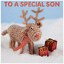 Buy Mint Son Christmas Card Online at johnlewis.com