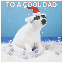 Buy Mint Cool Dad Christmas Card Online at johnlewis.com