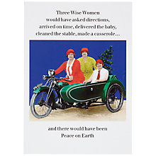 Buy Cath Tate Three Wise Women Christmas Card Online at johnlewis.com