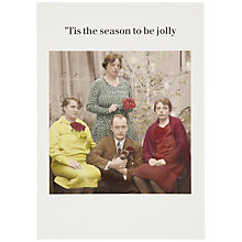 Buy Cath Tate Tis the Season Christmas Card Online at johnlewis.com