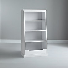 Buy John Lewis Ashton Storage Bookcase, White Online at johnlewis.com