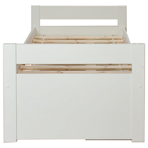 Buy Stompa Uno Plus Storage Cabin Bedstead, White Online at johnlewis.com