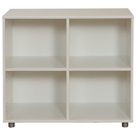 Buy Stompa Uno Plus 4 Cube Shelving Unit, White Online at johnlewis.com
