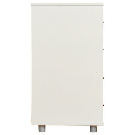 Buy Stompa Uno Plus 4 Drawer Chest, White Online at johnlewis.com