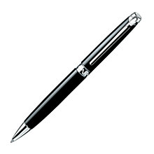 Buy Caran d'Ache Léman Ebony Ballpoint Pen, Black Online at johnlewis.com