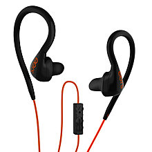 Buy Eers PCS-150 Custom Fit In-Ear Headphones with Microphone, Orange/Black Online at johnlewis.com