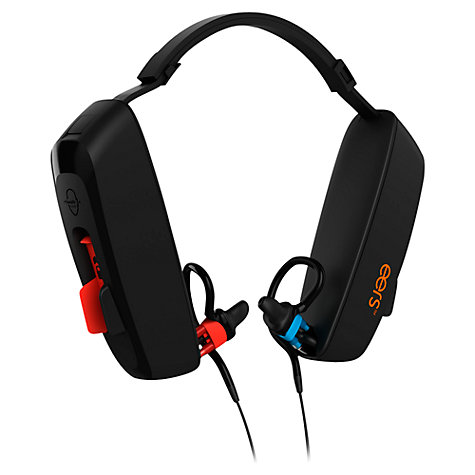 Buy Eers PCS-250 Custom Fit In-Ear Headphones with Microphone, Black Online at johnlewis.com