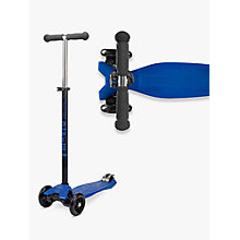 Buy Micro Maxi Micro Scooter, Blue Online at johnlewis.com