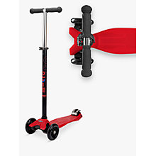 Buy Micro Scooters Maxi Micro Scooter, Red Online at johnlewis.com