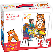 Buy The Tiger Who Came To Tea Floor Puzzle, 24 Pieces Online at johnlewis.com