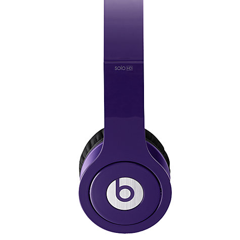Buy Beats™ by Dr. Dre™ Solo™ HD High Definition On-Ear Headphones with Microphone Online at johnlewis.com